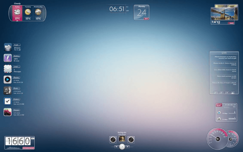 best rainmeter skins for windows